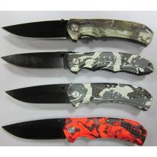 Couteau de camping en acier inoxydable (SE-106)