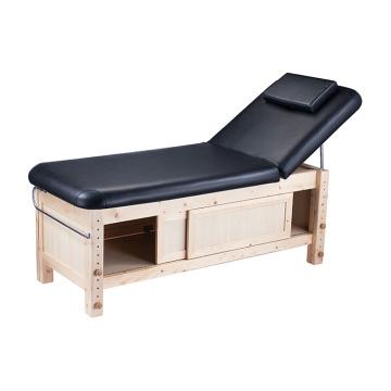 Tischmassage Holzbett