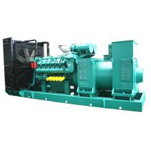 1000kw 1250kVA Medium Voltage Diesel Generator Set with Marathon Alternator