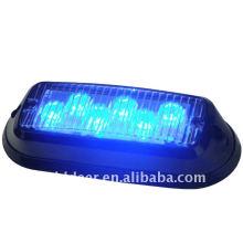 Tablero LED azul linterna emergencia luz Auto venta directa de fábrica