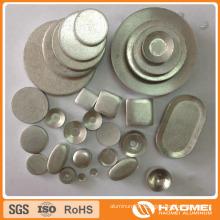 Tumble Rolled Circle Aluminum Slugs