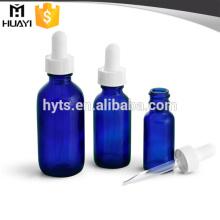 botellas de gotero de vidrio de color azul cobalto 30ml