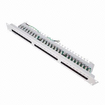 UTP 24 Ports Patch Panel in Cat5e