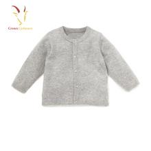 Baby Boy Cashmere Cardigan Sweater Plain Kids Cardigan