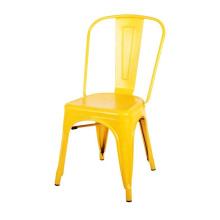 Открытый металлический бамбуковый банкетный обеденный стул