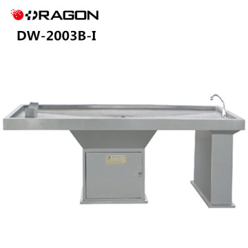 DW-2003B-I New Design Stably Medical Stainless Steel Forensic Dissecting Table