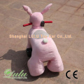 voiture batterie lapin rose