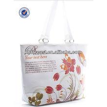 Sac fourre-tout en toile, sac à main en toile florale