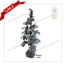 Arbre de décoration de Noël Lifelike de 120 cm arbre de Noël LED avec lumière LED