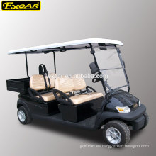 Carro de golf eléctrico EXCAR de 4 plazas Carro de golf buggy club coche buggy
