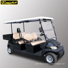 EXCAR 4 places de golf électrique panier Trojan batterie buggy club voiture golf panier