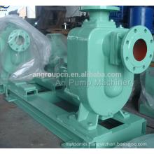 Four Wheels Manual Control Centrifugal Diesel Self Prime Pump