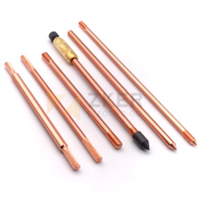Electric Grounding Rod System Material Copper Clad Steel ground Rod earth rods and accessories