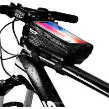 EVA Bicycle Bike Case ,water-proof Bike Phone Mount Bag, Cycling Waterproof Front Frame Top Tube Handlebar Bag with Touch S
