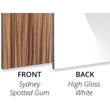 Sydney Spotted Gum/High Gloss White ACP Sheet