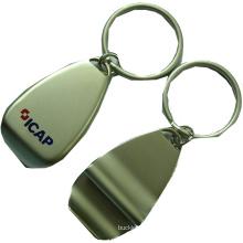 Abridor de botellas de metal con la impresión de logotipo del cliente (m-BO09)