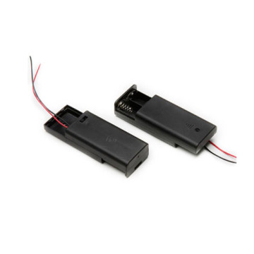 FBCB1141 Black NEW Battery Holder Battery Storage Case