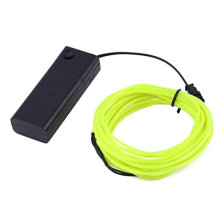 3M 9.6ft Flexible Neon Light EL Wire Rope Tube + Controller Amazingly Bright New Generation of Micro LEDs for Indoor and Outdoor