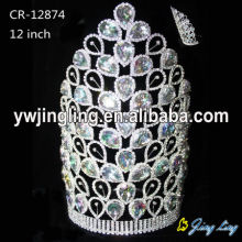 Couronne de diadème avec grand diamant