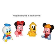 Мини Новинка мультфильм животных рис Дети Детские надувные Kitty Teddy Bear Пластиковые игрушки