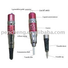 Rote Blume Permanent Make-up Pen Maschine für Tattoo Augenbraue Versorgung