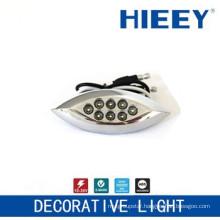 LED side marker lamp plating lamp decorative light license plate light with white LED