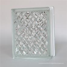 190 * 190 * 80mm Eis geschnitzter Glasblock