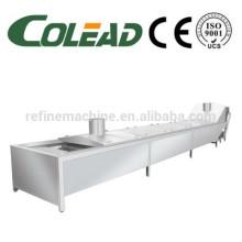Máquina de pré-cozimento blanch máquina de frutas e vegetais Blancher blanching máquina
