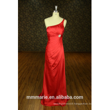 red one shoulder stone elegant buy from china evening dress