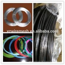 Alibaba Ausgewählte Eisen Draht Fabrik galvanisierte Draht / schwarz geglüht Draht / PVC beschichtet Draht