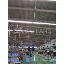 1.5kW энергосберегающие промышленный потолочный вентилятор большой промышленный вентилятор 5.0 м (16,4)