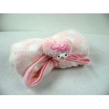 Hot Sale Super Soft Touch Cobertor de bebê de dois lados saudável