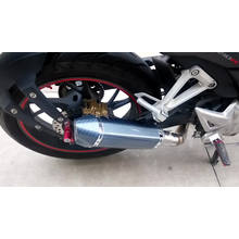 Big Displacement 100cc 200cc Motorcycle Exhaust Muffler Pipe with OEM Service Factory Supplier