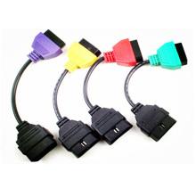 Адаптеры для диагностики сканирования ЭБУ FIAT кабель четыре цвета
