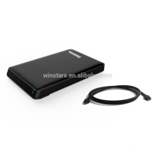 USB 3.1Type C docking station,USB 3.0 HDD super speed 5Gbps smart docking station