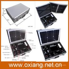 Système de générateur solaire portatif en gros d'usine pour des équipements domestiques