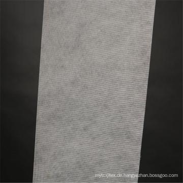 Weiß genähtes Polyester Fbric