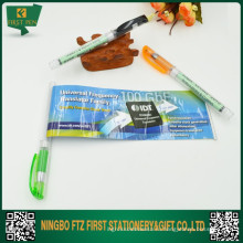 2 в 1 пластиковая бумага вытащить баннерную ручку