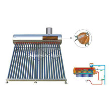 2015 Fashionable Pre-Heated Solar Water Heater with Copper Coil Inside