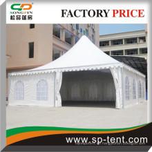 UV-stabilisierte und Anti-Pilz-Outdoor-Zelte für Hochzeiten 10x10m