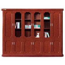 Classeur en bois antique avec armoires de rangement (FOH-AM806)