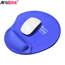 Tampon de souris avec support de poignet en silicone fait main