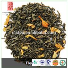 Hot sale flavored jasmine green tea from tea manufacturer