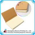 Small kraft notebook with blank pages inside custom size
