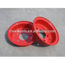 Вспомогательный вилочный погрузчик с ободом колеса 5.00F-10 (вилочный погрузчик) 10-дюймовый обод колеса