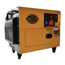Immediate delivery with AVR 4.8kw 6kva portable silent diesel generator