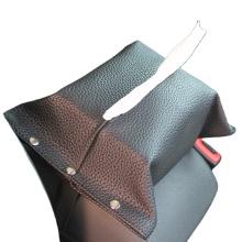 PU material tissue box Armrest console box napkin box
