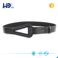 2016 Ladies Durable Black Leather Belts