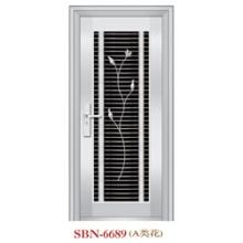 Porta de aço inoxidável para sol exterior r (SBN-6689)