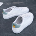 PU Leder Ananas Schuhe Stickerei Patch Casual